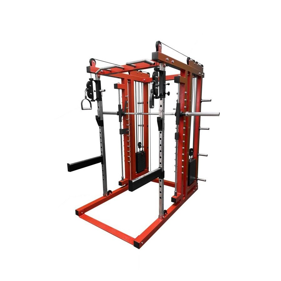 b11 multi functional squat rack smith machine cable cross over