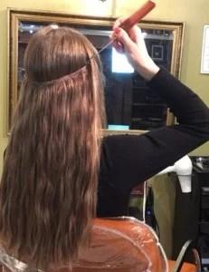Hair Extensions Methods NYC Custom Hair By Catherine