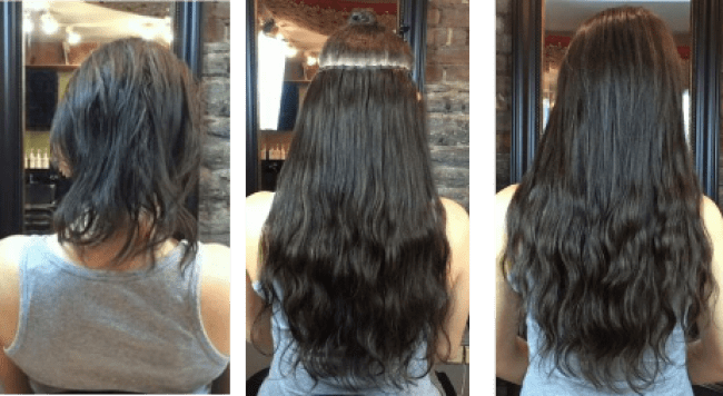 hair extensions methods