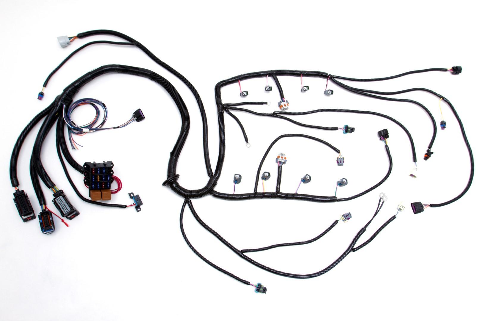 08 Ls2 6 0l 58x Standalone Wiring Harness W 4l60e