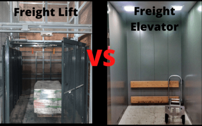 Modernizing or Installing a Freight Elevator Versus a VRC Lift