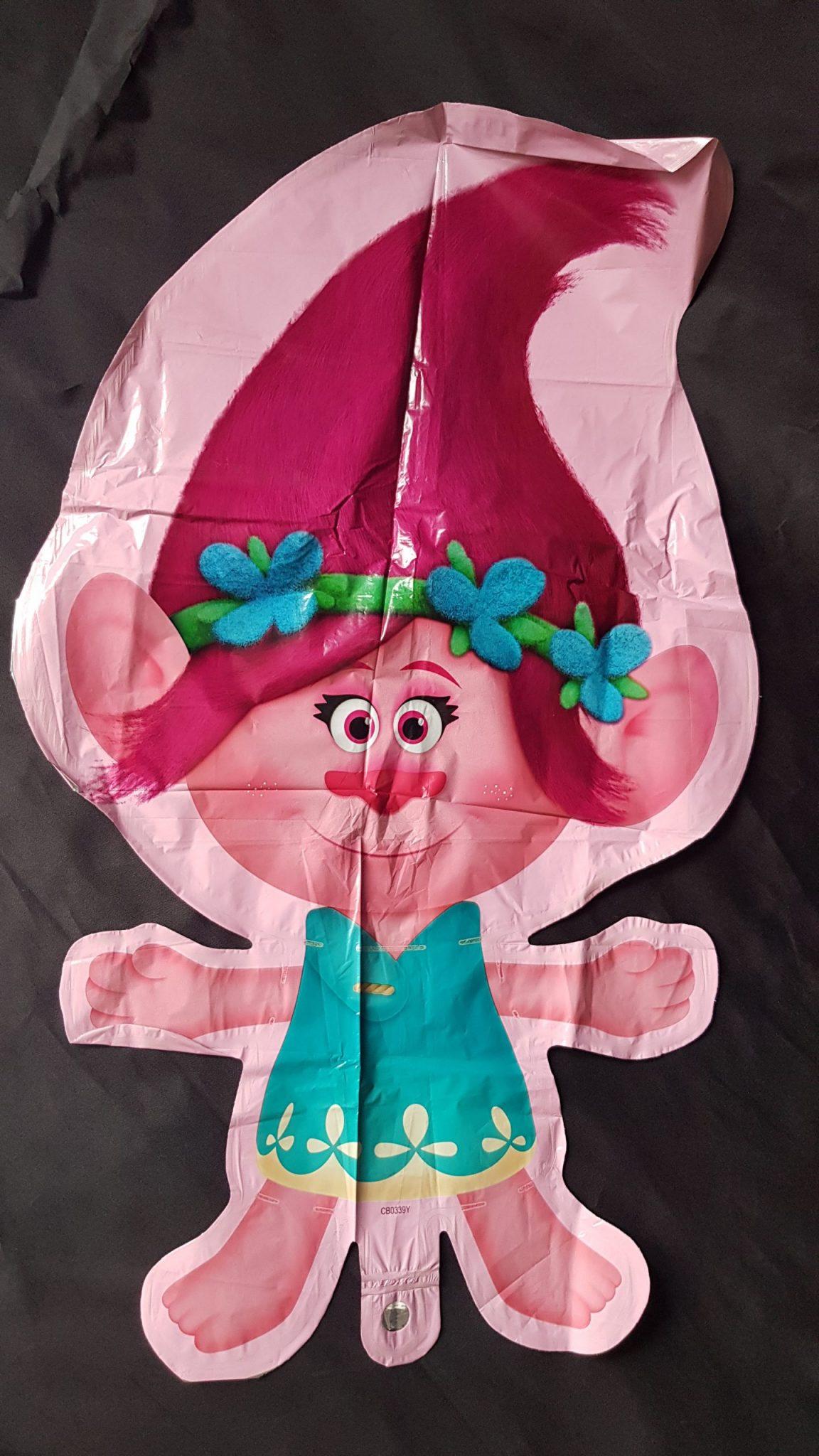 giant poppy foil balloon