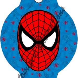 spiderman straw toppers