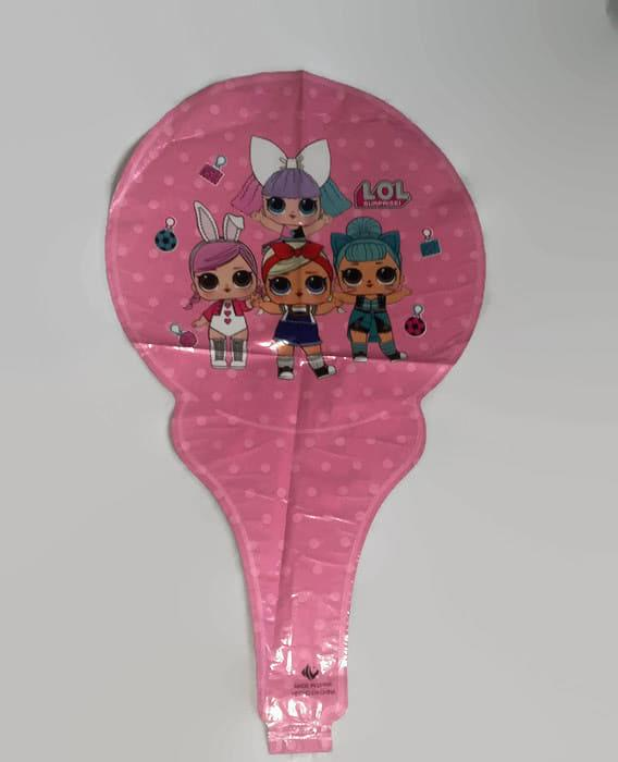 LOL baton handheld foil balloon