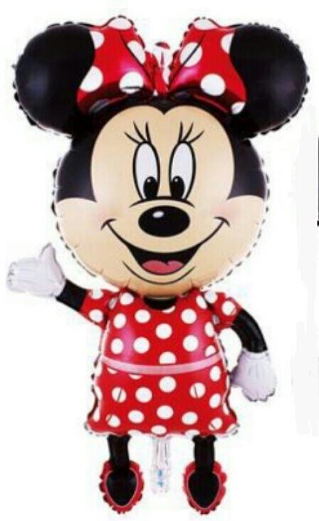 giant minnie mouse foil balloon