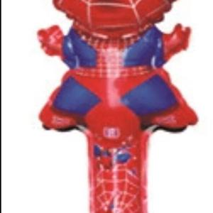 spiderman long baton balloon