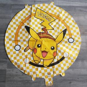 Pikachu 18 round foil balloon