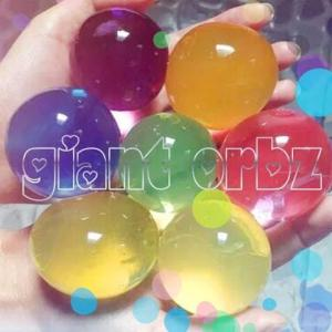 giant large huge water marbles beads orbeez