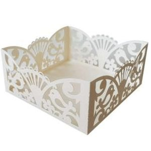 bird lace basket