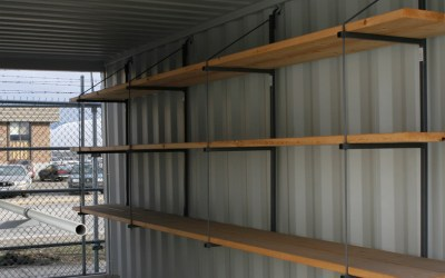 How Shipping Container Shelves Transform How You Use Your Container