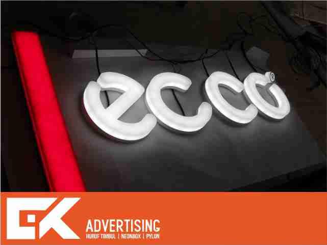 huruf timbul acrylic led purwokerto