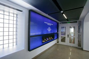 Custom Metal Display Installation at Inamori Kyocera Museum