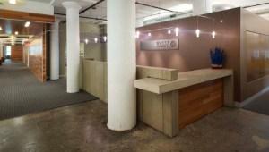 Reception Desk Design, Fabrication and Installation