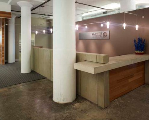 Reception Desk Design, Fabrication and Installation