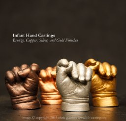 Infant Hand Casting