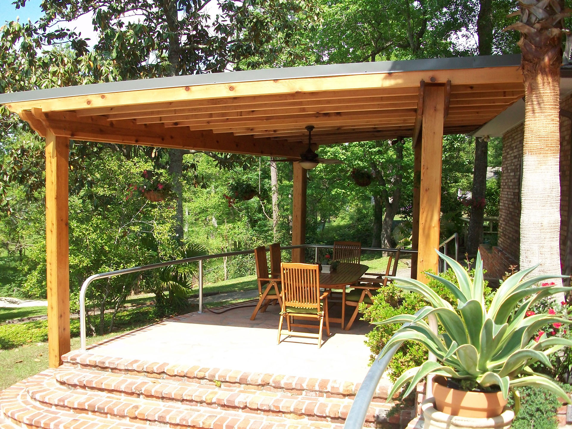 New Orleans Roof Covers   Outdoor Living   Custom Outdoor ... on Backyard Patio Extension Ideas id=84472