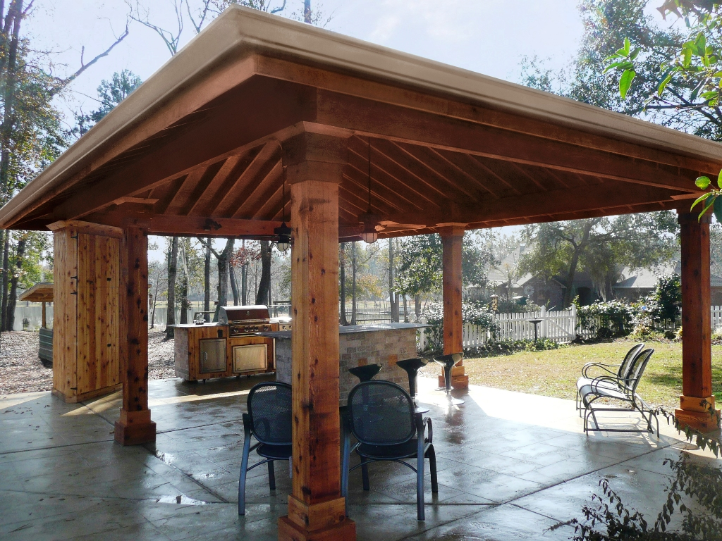 Pavilions | New Orleans Garden Pavilions | Custom Outdoor ... on Outdoor Patio Pavilion id=88390