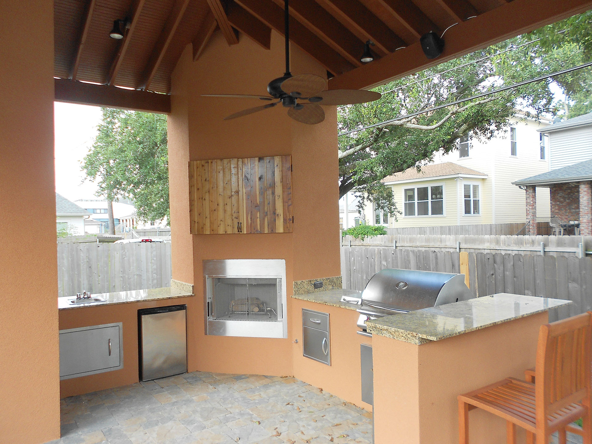 New Orleans Outdoor Kitchens Contractor | Custom Outdoor ... on Patio Kitchen  id=26075