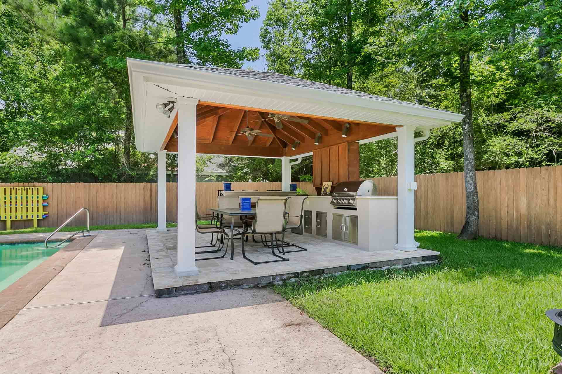 Pavilions | New Orleans Garden Pavilions | Custom Outdoor ... on Outdoor Patio Pavilion id=73512