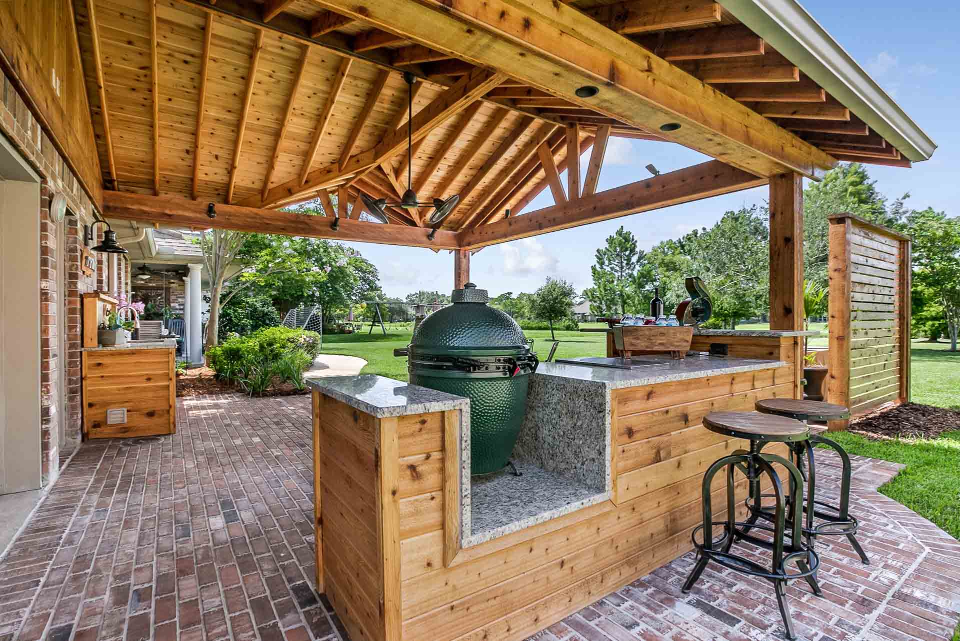 Pavilions | New Orleans Garden Pavilions | Custom Outdoor ... on Outdoor Patio Pavilion id=44070