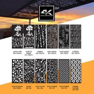 4K Aluminum Pergo-Soleil Panel Design Sample - Custom Outdoor Living of Las Vegas, Nevada
