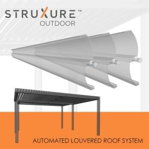 Struxure Automated Louvered Patio Cover Pergola System - Custom Outdoor Living Las Vegas