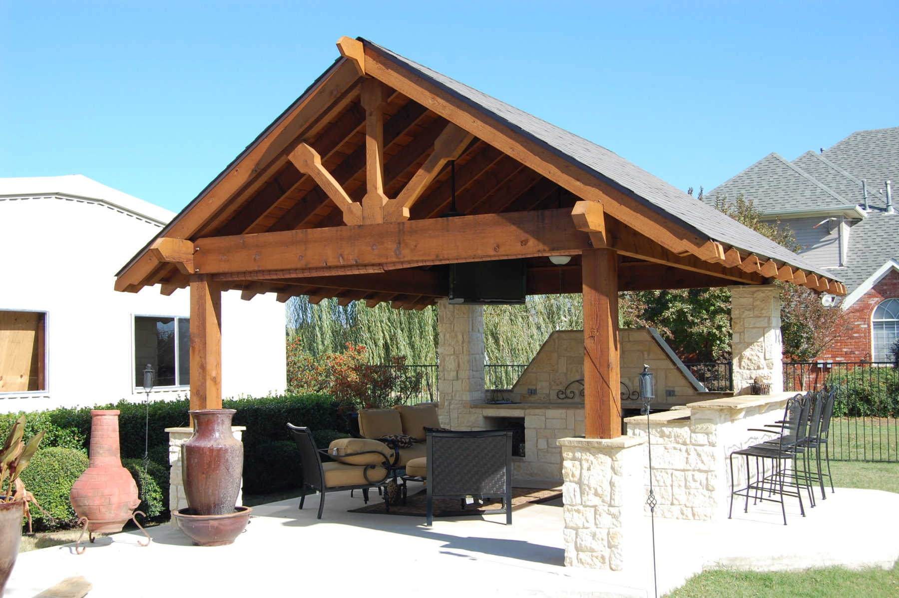 Custom Patio Designs Forney Tx When Quality Counts