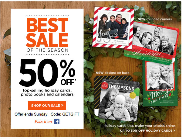 Shutterfly Coupon 50 Off Photo Gifts Amp Prints For Christmas