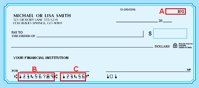 Security First Routing Number