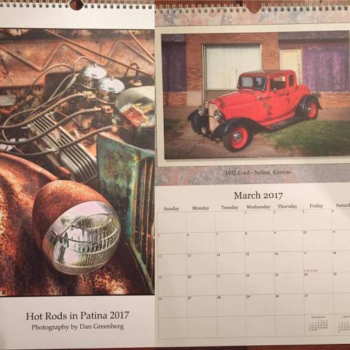 1932 Ford 5W Coupe - Calendar