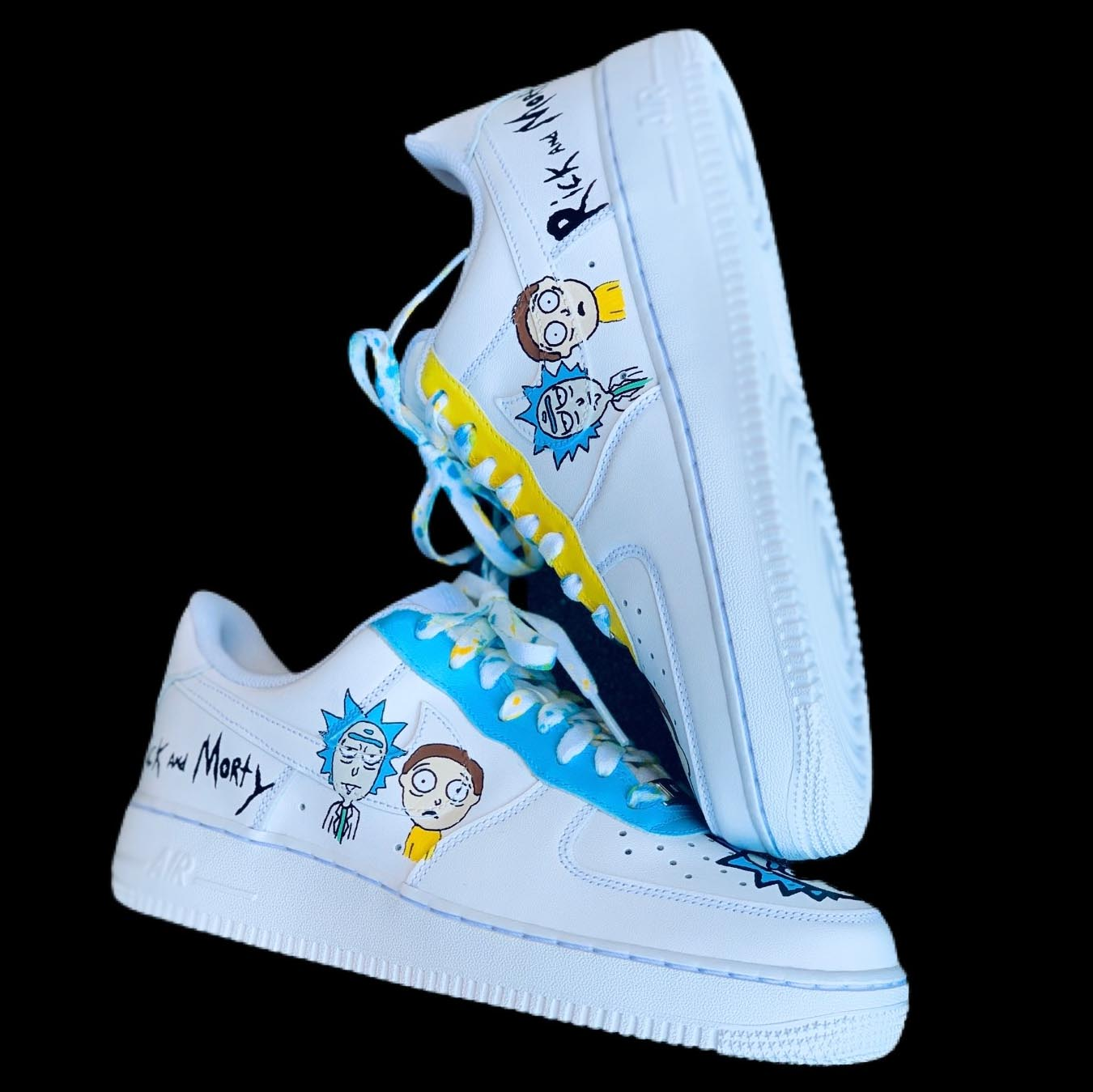 Rick and Morty Custom Shoes – Customs