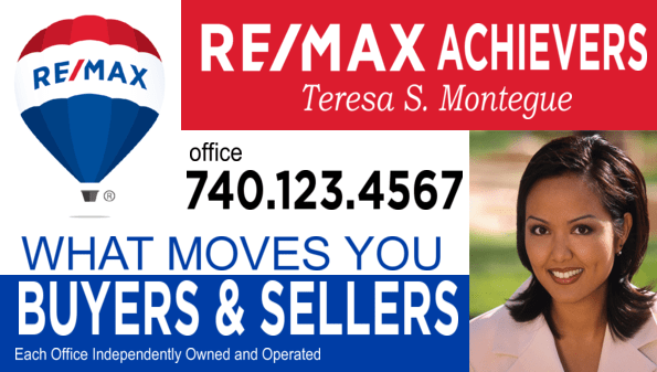 REMAX Signs All Templates All Style Guide Compliant