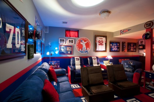 New York Giants Man Cave