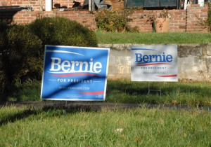 Bernie Sanders Yard Signs