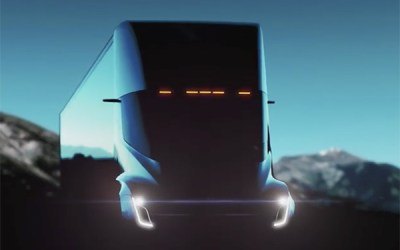 New Futuristic Electric Truck