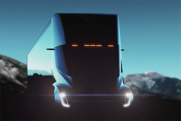 New Futuristic Electric Truck