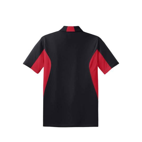 Black/ True Red