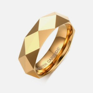 Gold Tungsten Rings