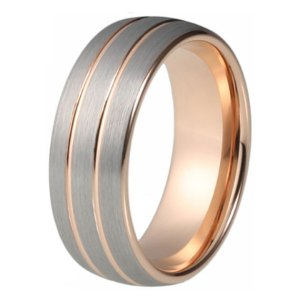 8mm-rose-gold-colour-tungsten-wedding-ring-anniversary-ring-domed-with-2-thin-line-comfort-fit1