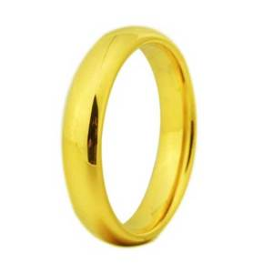 mens-unisex-4mm-gold-tungsten-ring