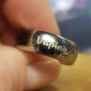 Tungsten Ring for Vapers