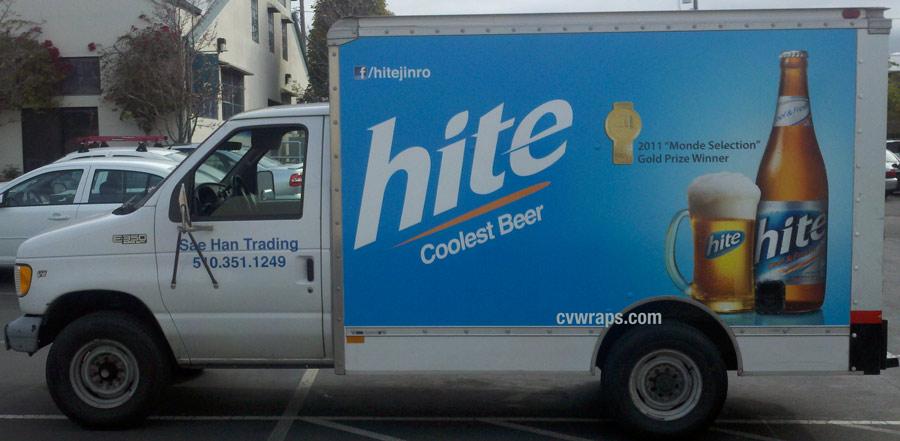 Hite Truck Wrap