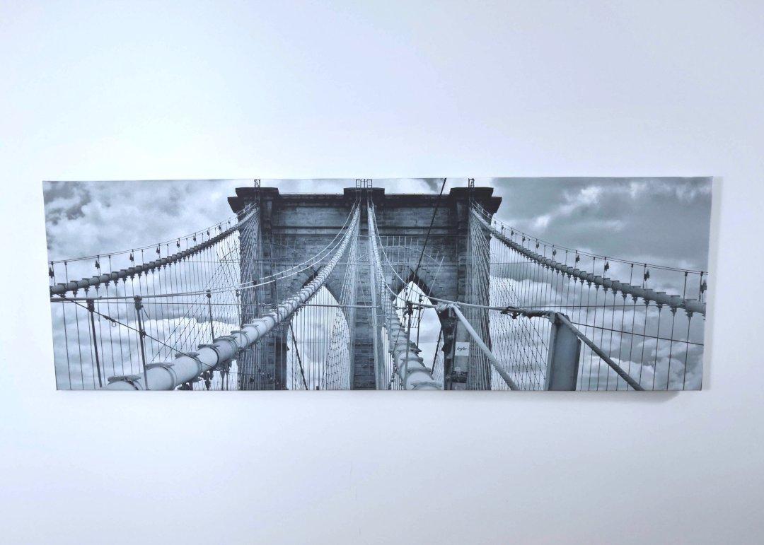 Lienzo puente brooklyn 141x45