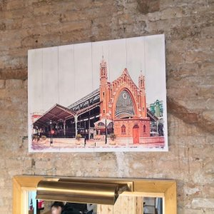 Foto cuadro mercado de Colón