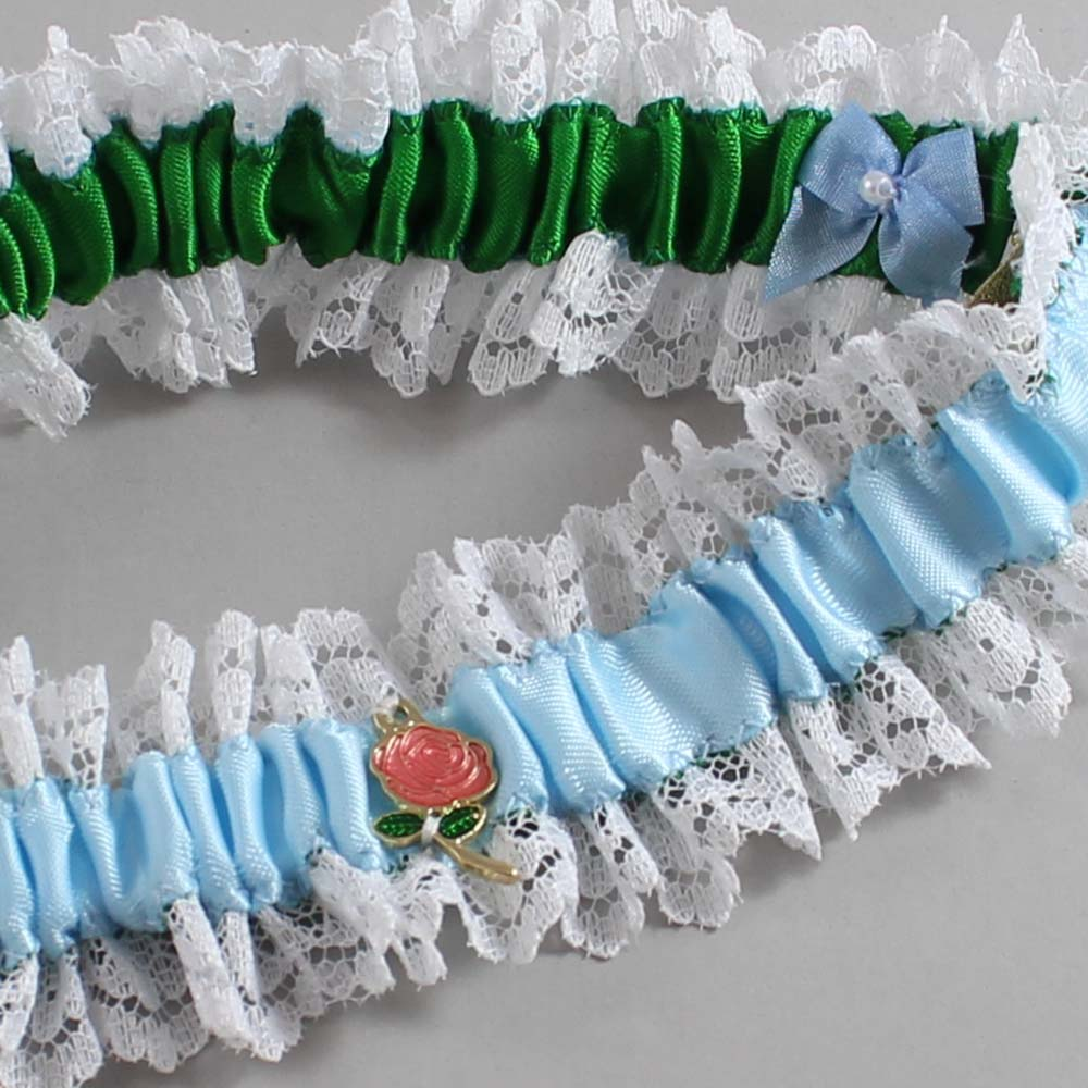 Alice in Wonderland Wedding Garter