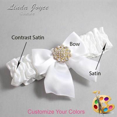 Customizable Wedding Garter / Penny #01-B01-M12