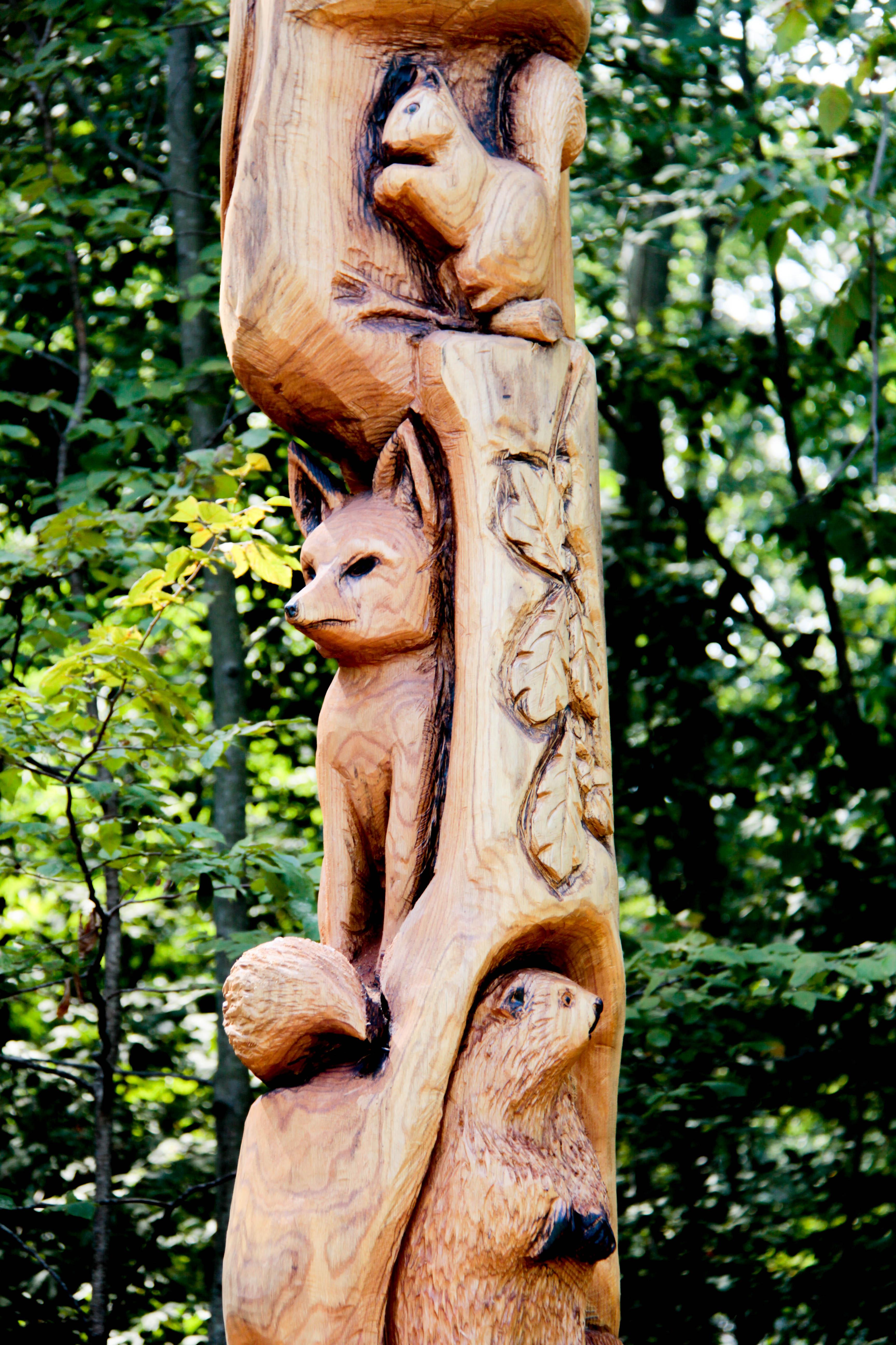 12 ft. multiple animal carving u2013 custom sculpture & sign company