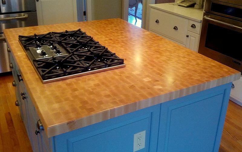 Hard Maple end grain countertop - Southside Woodshop on Maple Countertops id=64624