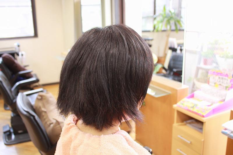 ご来店時 髪の傷み ヘナで髪質改善