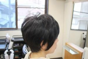アフター 髪が多い 直毛 柔らかく軽く